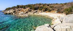 Beach Palamida - Novalja - Island Pag - Lika - Croatia