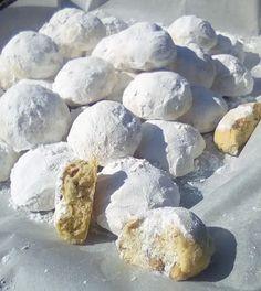 κ Greek Sweets, Greek Desserts, Greek Recipes, Cake Mix Cookie Recipes, Cake Mix Cookies, Food Network Recipes, Cooking Recipes, Greek Cookies, Donuts