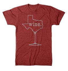 Wine Texas - Unisex T-shirt (2 Color Options) – Tumbleweed TexStyles
