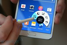 I like the updated S Pen features. Samsung Galaxy Note III preview