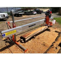 Manual Warrior swing-blade Sawmill — Smith Sawmill Service Electric Power, Beams, Drill, Manual, Grilled Pork, Pork Belly, Recipe, Hole Punch, Textbook