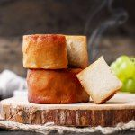 Aged cashew cheese that is real smoked over hickory wood chips. Smoky, buttery and full of complex flavors. Vegan Cheese Recipes, Milk Recipes, Cashew Cheese, Snacks Recipes, Yummy Snacks, Yogurt, Smoked Cheese, Aged Cheese, Vegan Vegetarian