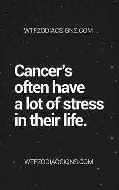 Cancer Zodiac Sign ♋ Stress