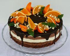 Baking of...: Appelsiini-suklaakakku browniepohjalla (gluteeniton)