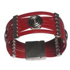 bca64e0406 Un Grand Marché : Femmes flamboyantes en Automne · Bracelet cuir rouge