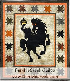 Brom Bones quilt pattern | ThimbleCreek Quilt Shop
