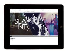 SLANT iPad magazine by Sophie Durston, via Behance