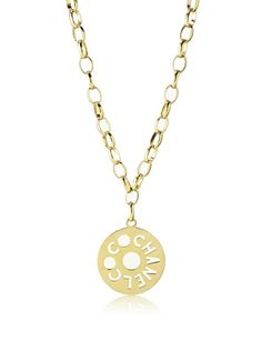 www.myhabit.com  Circa late 1970s; this large chain design can be worn as a necklace or belt, accented with a high-shine cut-out pendant. Previously owned archive product; CHANEL box included.