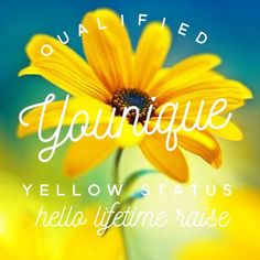 I am a Yellow Presenter!!! I have some fabulous customers already. I love Younique as a company and their products. I'm so blessed to be able to help women be more confident and to feel more empowered. If you're ready to be a part of this amazing company, go to my website and click join.