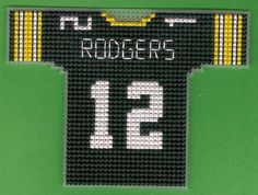 pattern for gayle Plastic Canvas Christmas, Plastic Canvas Crafts, Plastic Canvas Patterns, Funny Cross Stitch Patterns, Cross Stitch Designs, Cross Stitching, Cross Stitch Embroidery, Sorority Outfits, Football Jerseys