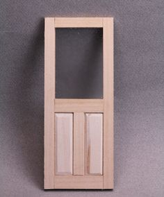 How To Make Raised Panels For Dollhouse Doors And Walls