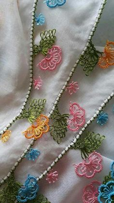 İğne oyası Turkish Needle Lace