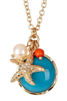 Starfish Treasures Necklace