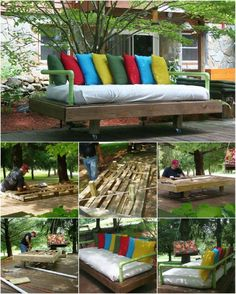ingenious summer houses | 35 Ingenious Outdoor Pallet Projects for All Types of DIYers - DIY ...