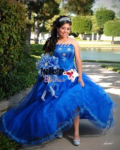 Wholesale 2016 new sweet 15 dress blue tulle quinceanera ball gown with stars ORS281
