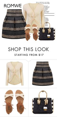 """""""romwe"""" by graziana1 ❤ liked on Polyvore featuring Billabong and MCM"""