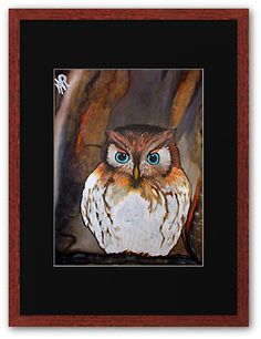 Zoey's Little Owl. Painted on Request.