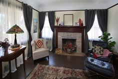 """#HomeMadeSimple """"CRAFTING A NEW HOME"""" It's time to bring the heart into an empty vintage living room for an inspiring mother and new homeowner who works tirelessly for families with developmentally challenged children. The team warms up this large space just in time for their first party."""