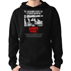 BASKET CASE Hoodie (Pullover) Fishing Gifts, Hoodies, Sweatshirts, Basket, T Shirt, Stuff To Buy, Pullover, Products, Fashion