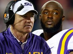 LSU's Les Miles -- I Told My Players ... No More Slap Boxing!