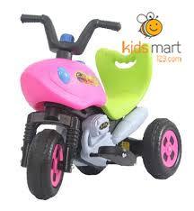 Xe máy điện trẻ em 3013T kiểu xe thể thao có tựa lưng