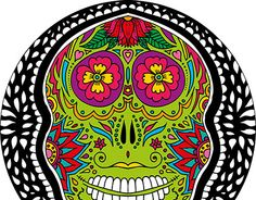 "Check out new work on my @Behance portfolio: ""Sugar Skull"" http://be.net/gallery/31190379/Sugar-Skull"