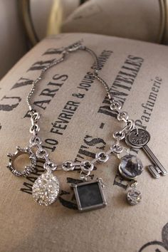 Charm Me necklace by HaveFaithDesigns on Etsy