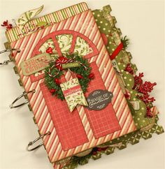 Authentique Paper: A Festive Mini Album Kit from Paisleys & Polka Dots!