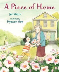 "When Hee Jun's family moves from Korea to West Virginia, he struggles to adjust to his new home. But little by little Hee Jun begins to learn English words and make friends on the playground. And one day he is invited to a classmate's house, where he sees a flower he knows from his garden in Korea — mugunghwa, or rose of Sharon, as his friend tells him — and Hee Jun is happy to bring a shoot to his grandmother to plant a ""piece of home"" in their new garden. 9780763669713 / 5-8 yrs"