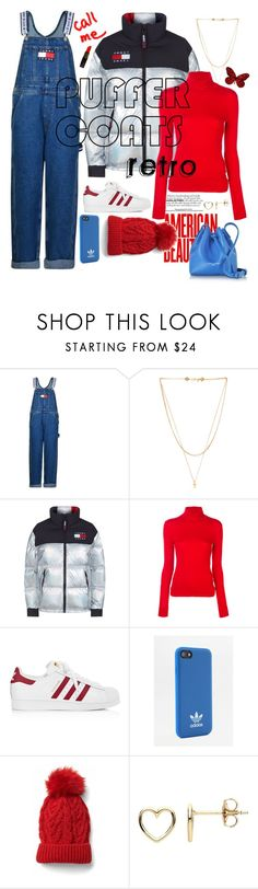 """Retro street"" by acious ❤ liked on Polyvore featuring Tommy Hilfiger, Vanessa Mooney, Calvin Klein 205W39NYC, adidas, Estella Bartlett and Lancaster"