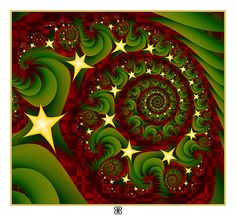fractal merry christmas - Google Search