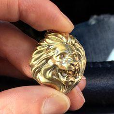 Lion pendant by lhegacy