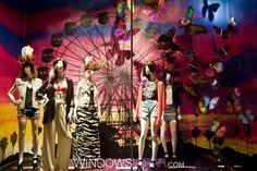 Butterfly fashion window design trend, worldwide