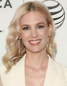 """JANUARY JONES """"I love products. The face wash I've used for years is Avène, and then I use a Sisley toner. That's it for washing my face. But I also use tons of creams and stuff."""""""