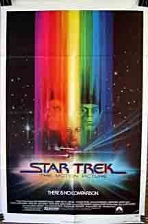 Star Trek: The Motion Picture - one sheet poster - USA - William Shatner - Leonard Nimoy - Robert Wise - Bob Peak artwork Star Trek 1, Watch Star Trek, Nave Enterprise, Star Trek Enterprise, Star Trek Voyager, Fiction Movies, Sci Fi Movies, Science Fiction, Space Movies