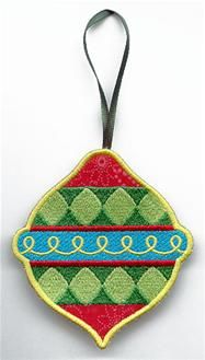Machine Embroidery Designs at Embroidery Library! - Ornaments (In-the-Hoop)