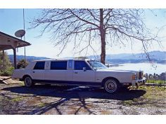 1989 LINCOLN LIMO   Redwood Valley CA