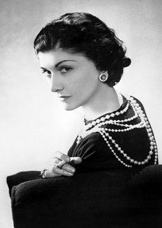 Coco Chanel by Boris Lipnitzki.