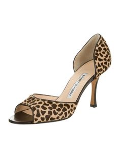 Manolo Blahnik Pony Hair Pumps