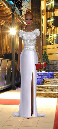 Sparkle and Shine Covet Fashion Games, Diva Fashion, Party Fashion, Fashion Looks, Fashion Design, Reception Gown, Evening Dresses, Prom Dresses, African Dress