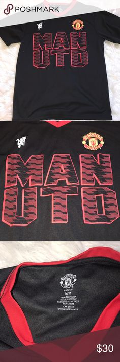 b8763f49c OFFICIAL Manchester United shirt. Oversized and comfortable Manchester  United shirt for soccer fans in the