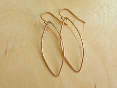 These are going to the beach with me today!  Happy Summertime!!!  G O L D E N SURF 14K GoldFill Surfboard Earrings by by MandyLemig, $28.00