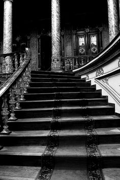 Stairs by lies my parents told me on Flickr.        Dolmabahçe Palace, Istanbul, Turkey