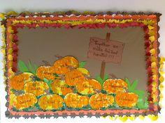 Thanksgiving 2011 Los niños trabajaron con papel seda y goma,un estilo de papel mache. PKA 2011