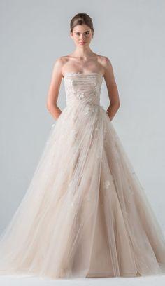 Featured Dress: Anne Barge; Wedding dress idea.