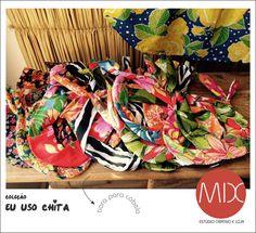 A gente segue colorindo a vida. Agora com faixas para cabelos.  Rua Joaquim Gomes Pinto / 9 / Cambuí / Campinas / SP ter - sex > 10:00 - 18:00 / sab > 10:00 - 14:00 #themixbazar #estudiocriativo #loja #bazar #upcycling #design #moda #arte #tiara #faixadecabelo #chita #cores #verão #carnaval #cambui
