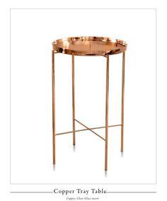 Anatomy Design | copper tray table
