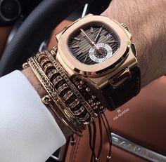 Patek Philippe Nautilus High End Watches, Watches For Men, Luxury Watches, Rolex Watches, Patek Philippe, Well Dressed Men, Luxury Travel, Men's Shoes, Bracelet Watch