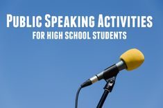 Public speaking activities can improve the tone of a speech class. Get students moving with these activities.