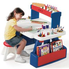 Step 2 Creative Projects Table Has A Sturdy Desk With Lots Of Storage For  Creative Activities.